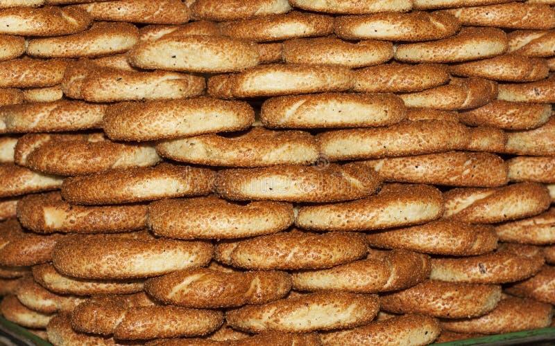Турецкое фото Simit хлеба бейгл стоковое фото rf