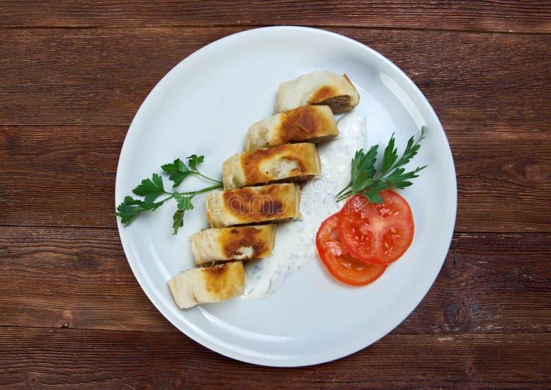 Турецкое pide с мясом говядины стоковое изображение rf