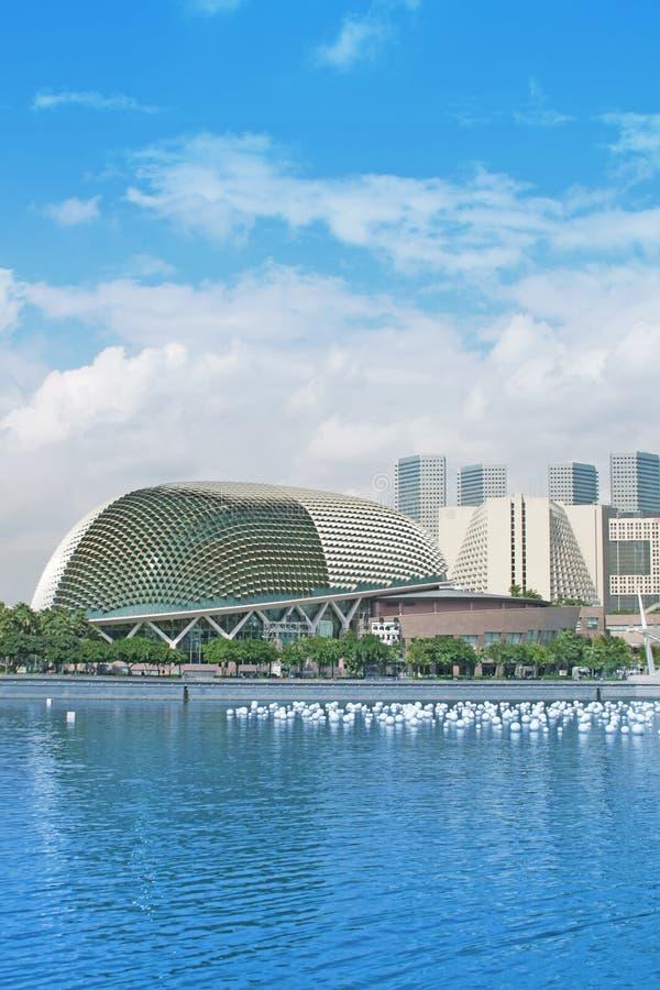 туризм горизонта singapore города стоковое изображение rf