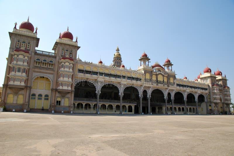 туризм дворца mysore стоковые фотографии rf