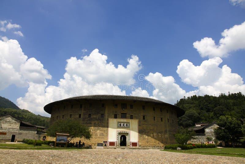 Туризм земли Hakka Фуцзяня китайца стоковое фото rf