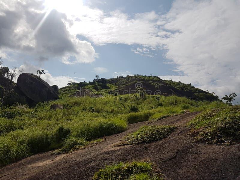 Туризм холмов Idanre в лучшем случае стоковые фотографии rf