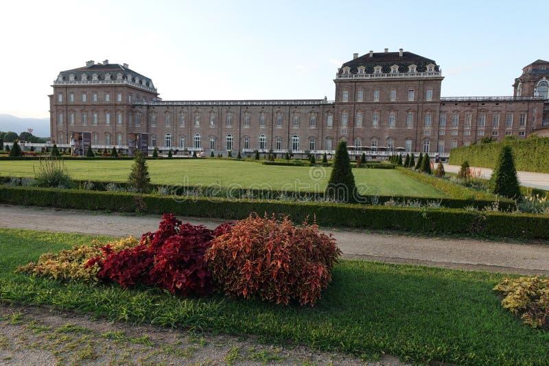 Турин королевский дворец Venaria Reale стоковое изображение