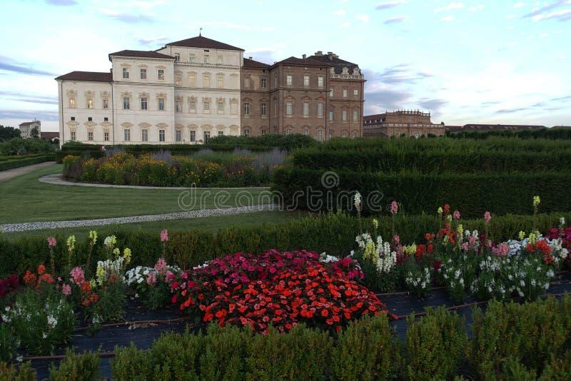 Турин королевский дворец Venaria Reale стоковое изображение rf