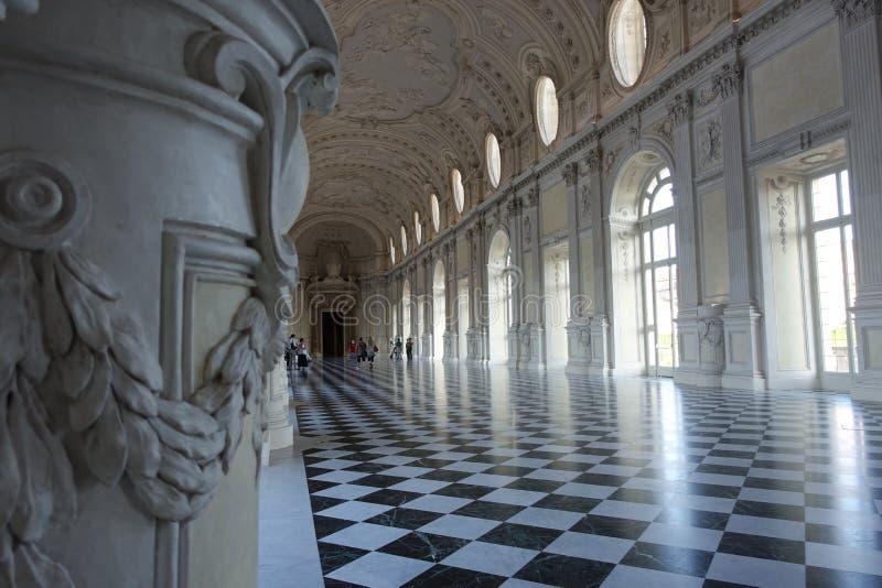 Турин королевский дворец Venaria Reale стоковые фото