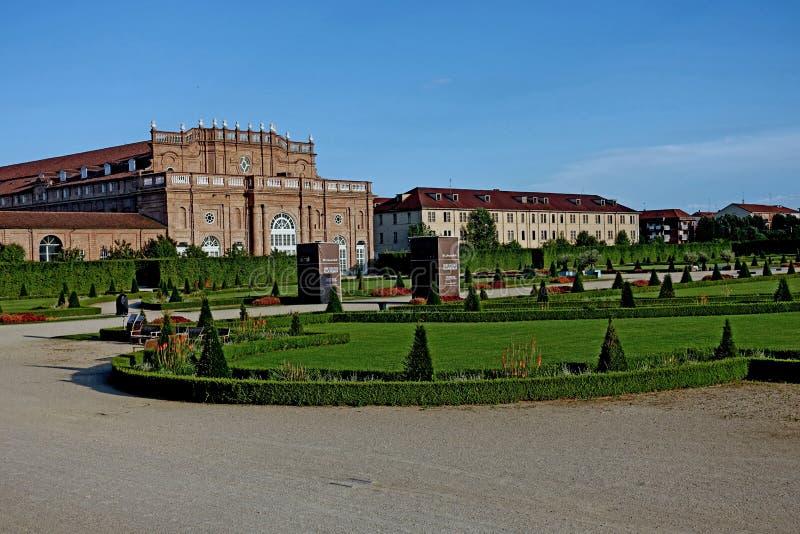 Турин королевский дворец Venaria Reale стоковые изображения