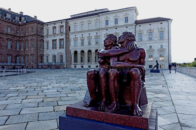 Турин королевский дворец Venaria Reale стоковое фото rf