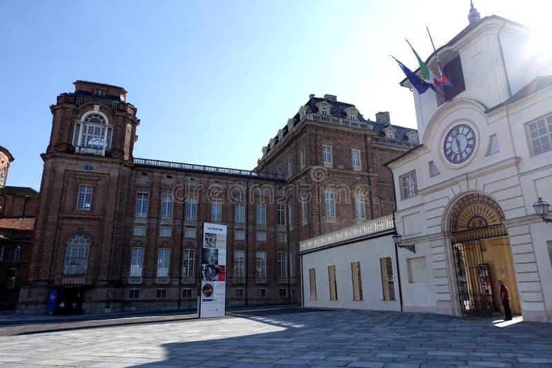 Турин королевский дворец Venaria Reale стоковое фото