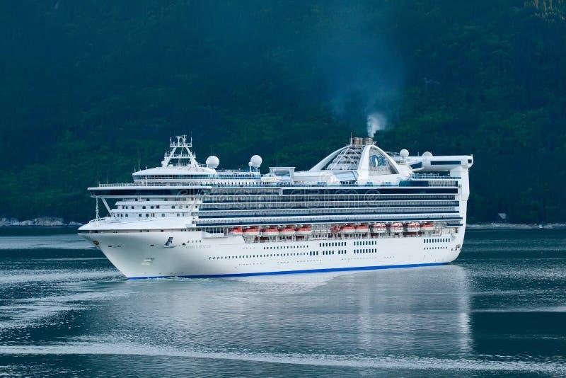 туристическое судно Аляски стоковые изображения