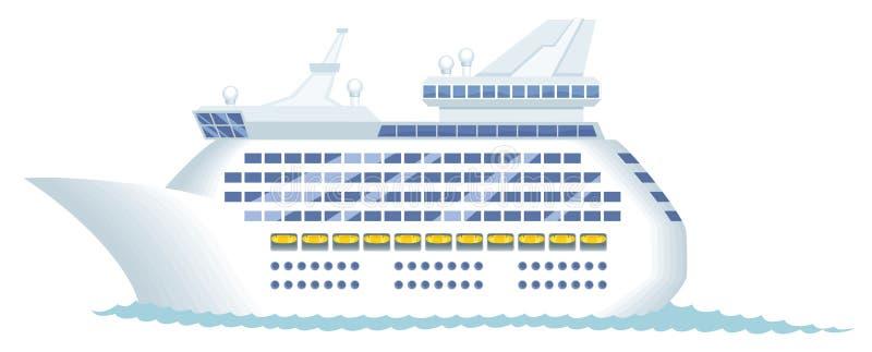 туристическое судно бесплатная иллюстрация