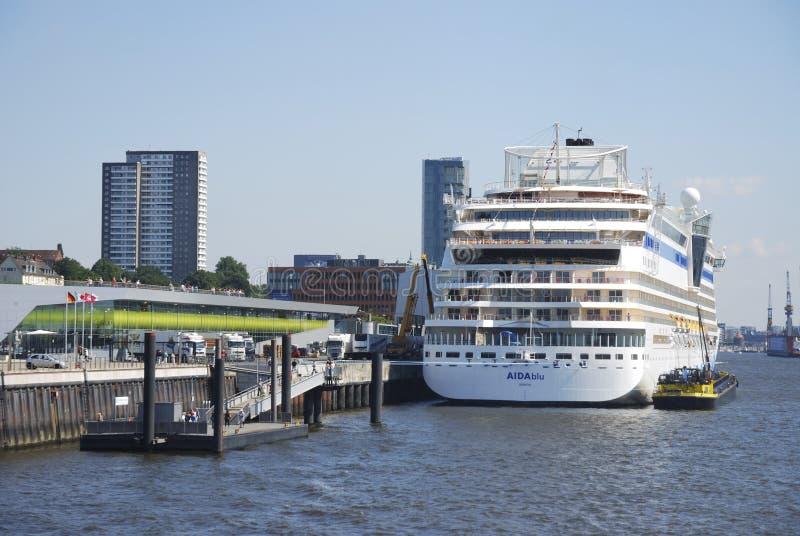 туристическое судно aidablu стоковые фото