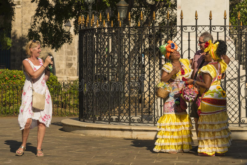 Туристская ловушка Гавана стоковое фото