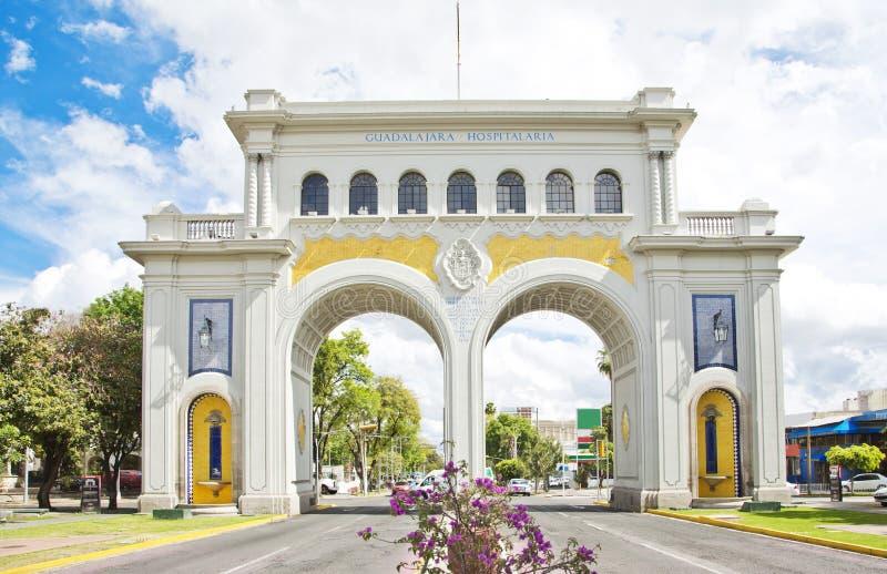 Туристские памятники города Гвадалахары стоковое изображение rf