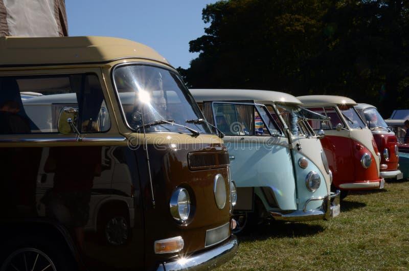Туристы VW стоковое фото