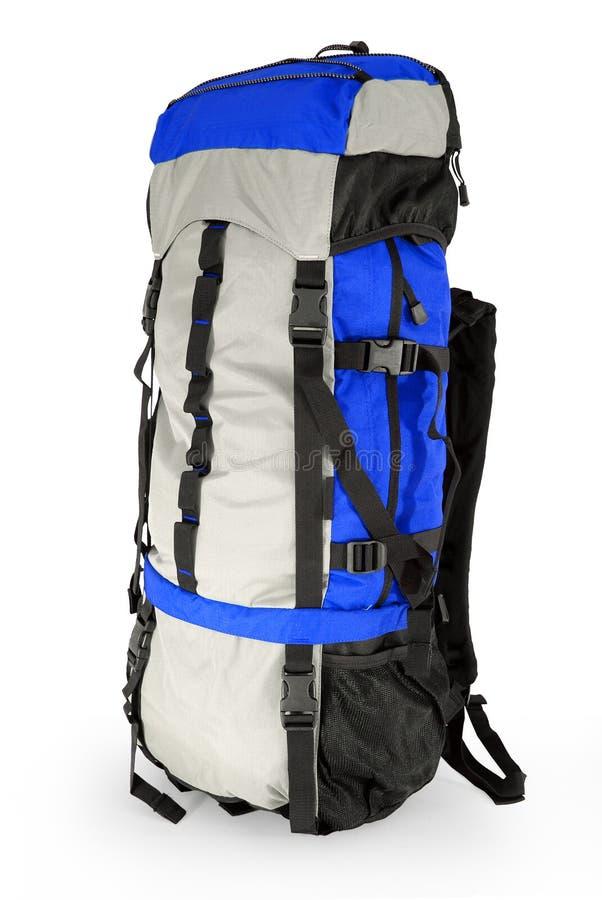 турист сини backpack стоковые фото