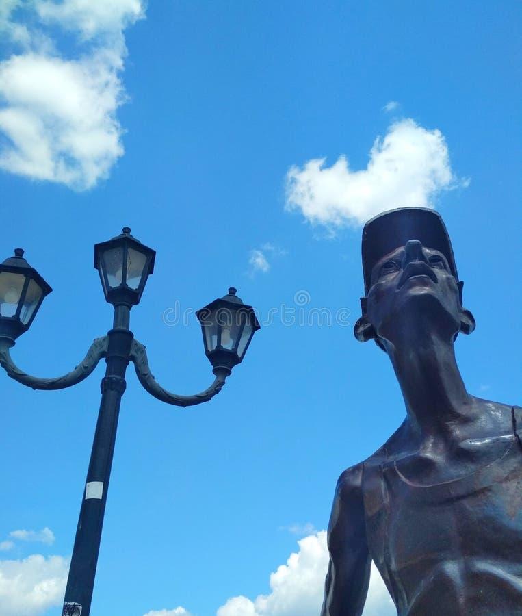 Турист утюга, Kamenets-Podolsky, Украина стоковые изображения rf