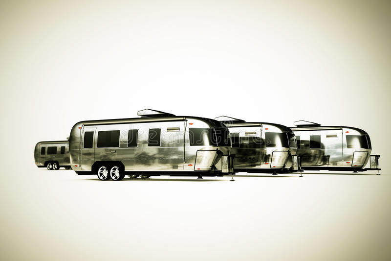 Турист Airstream бесплатная иллюстрация