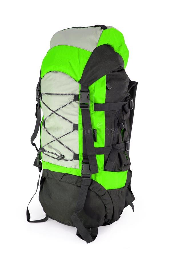 турист backpack зеленый стоковые фото