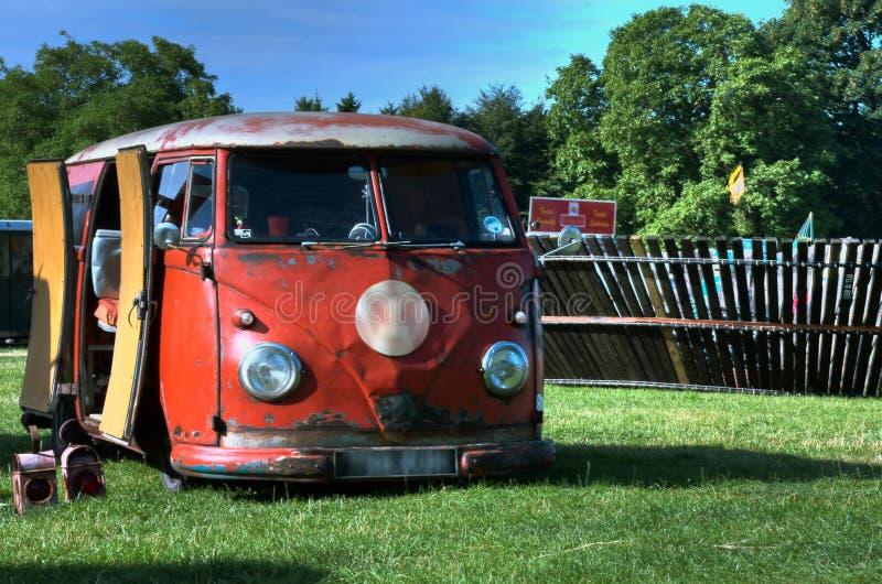 Турист VW стоковые изображения rf