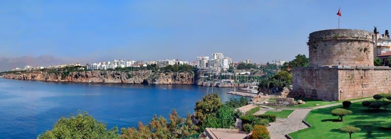Турция, Анталья, seashore. Панорама. стоковая фотография rf