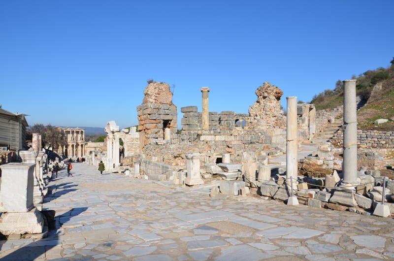 Турция, Izmir, Bergama в введении древнегреческия эллинистическом различном a славном, это реальная цивилизация, ванны стоковое изображение rf