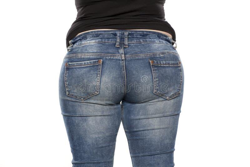 Тучная женщина стоковые фотографии rf