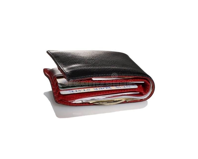 тучный бумажник стоковое изображение