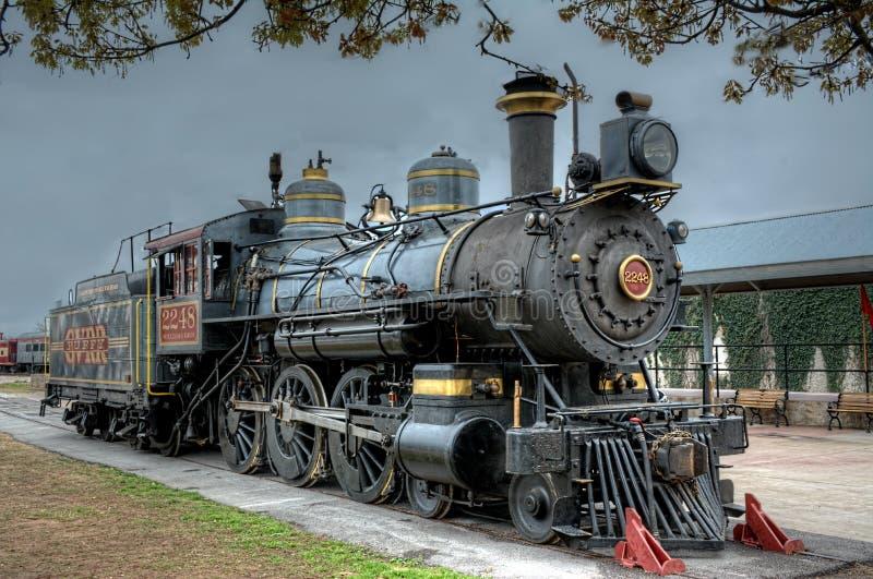 Тучный; Железная дорога года сбора винограда виноградного вина, Техас стоковое изображение