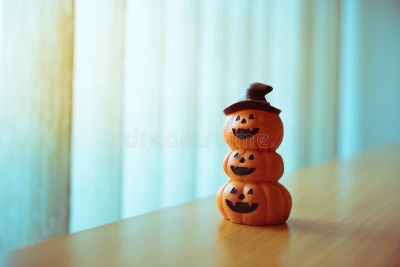 Тыква хеллоуина крупного плана страшная использующ как концепция хеллоуина стоковая фотография rf