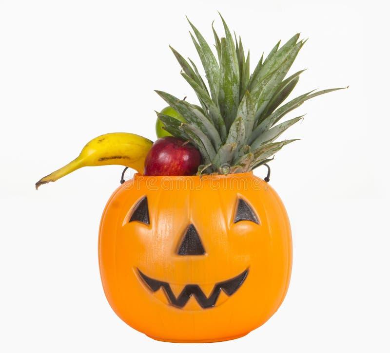 Тыква хеллоуина пластичная вполне плодоовощей стоковое фото rf