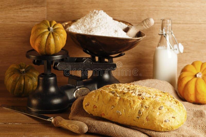 тыква хлеба стоковое фото rf