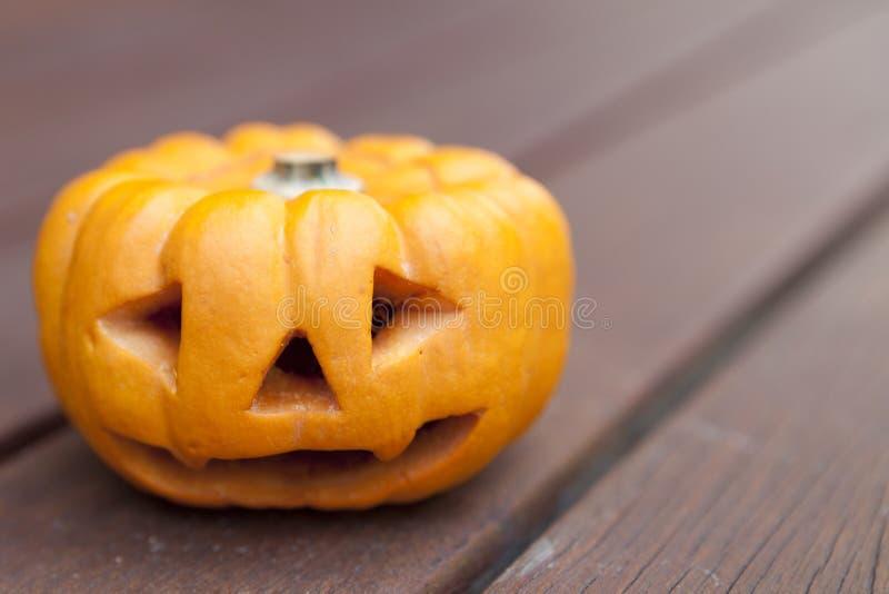 тыква halloween миниая стоковое фото
