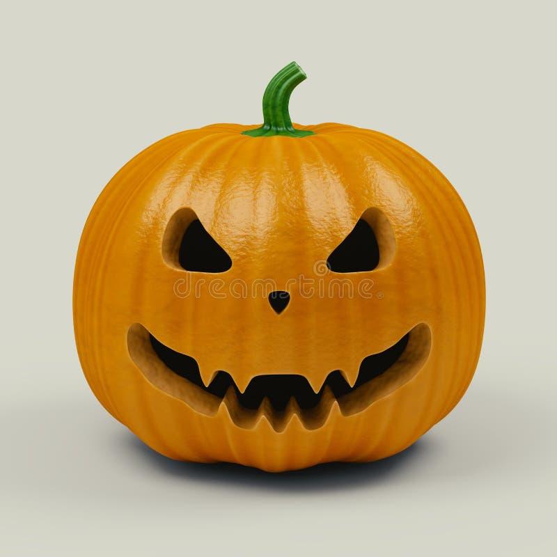тыква halloween страшная бесплатная иллюстрация