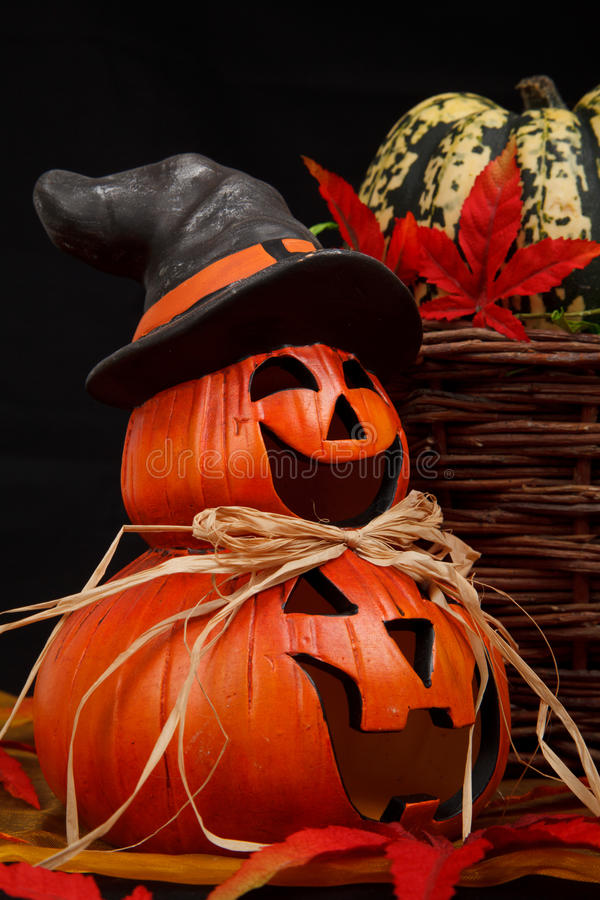 тыква halloween счастливая стоковые изображения rf