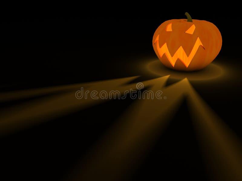 тыква halloween традиционная иллюстрация вектора