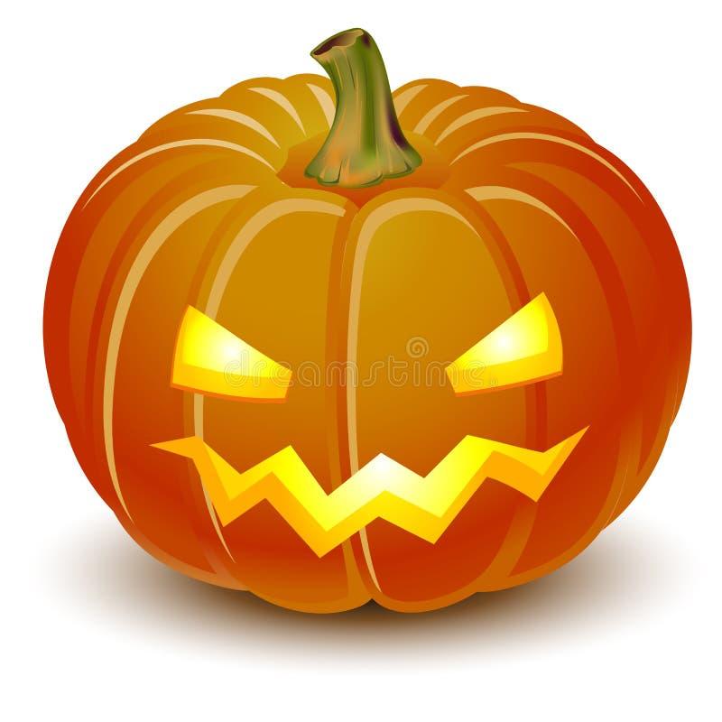 тыква halloween иллюстрация вектора