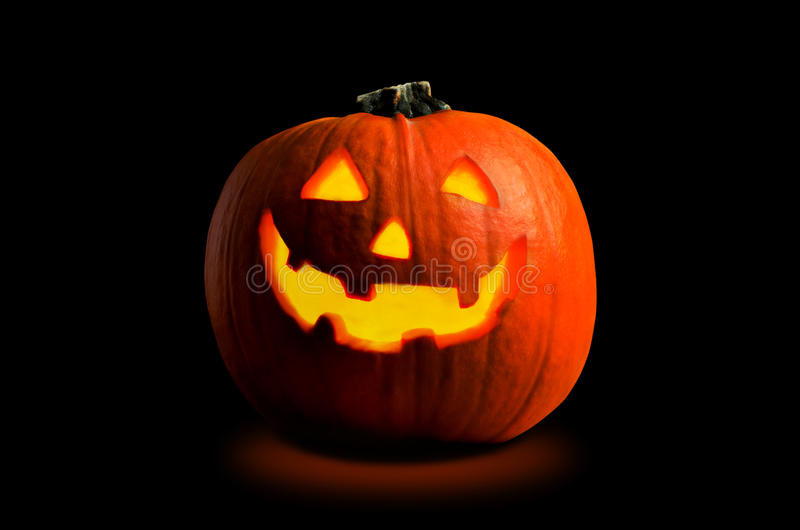 Тыква Halloween стоковое изображение