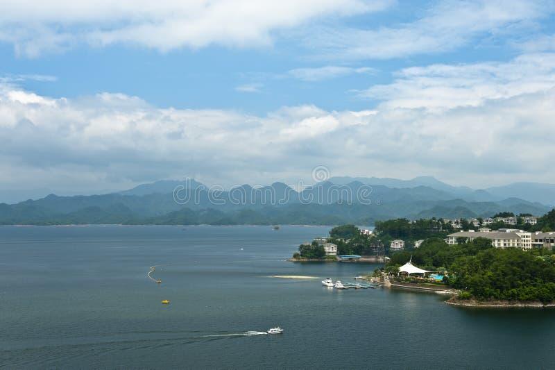 Тысяча озер остров стоковое изображение rf