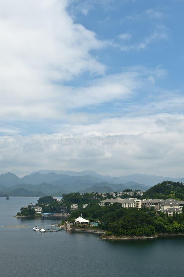 Тысяча озер остров стоковые фотографии rf