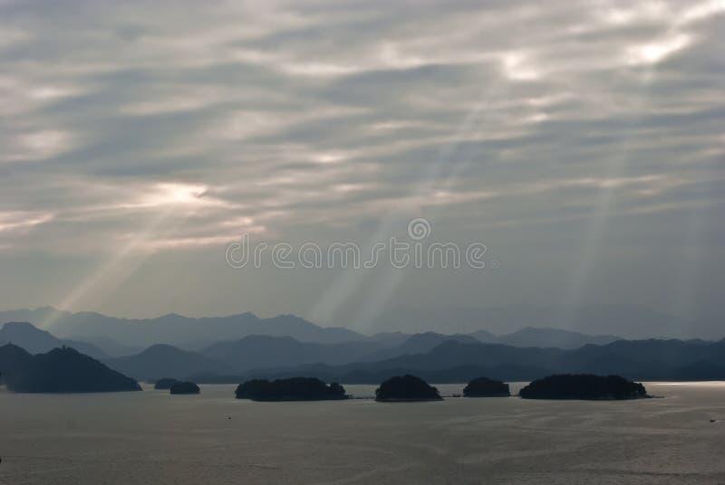 Тысяча озер остров стоковая фотография