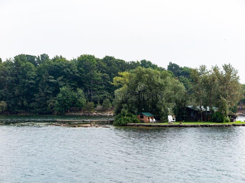 Тысяча островов около Кингстона Онтарио стоковое фото