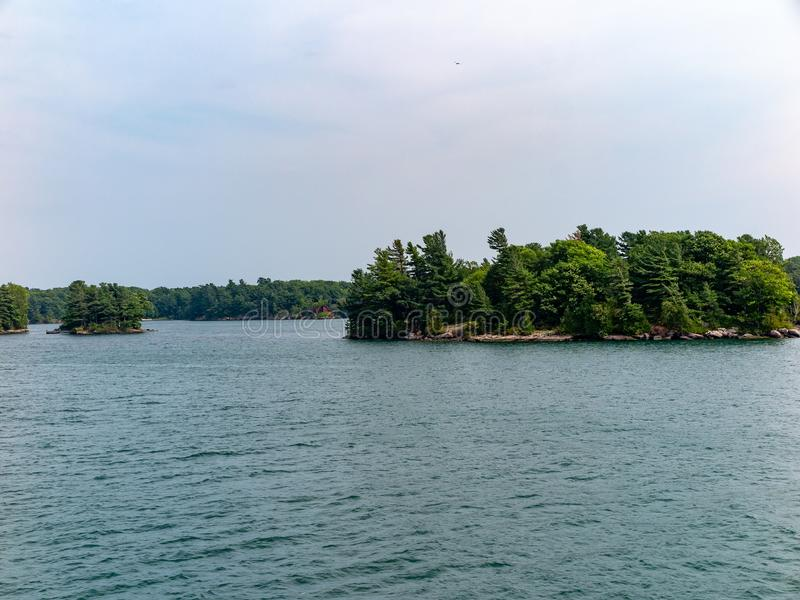 Тысяча островов около Кингстона Онтарио стоковые фото