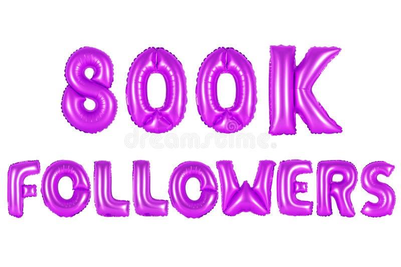 800 тысяч следующие, фиолетовый цвет стоковое фото rf