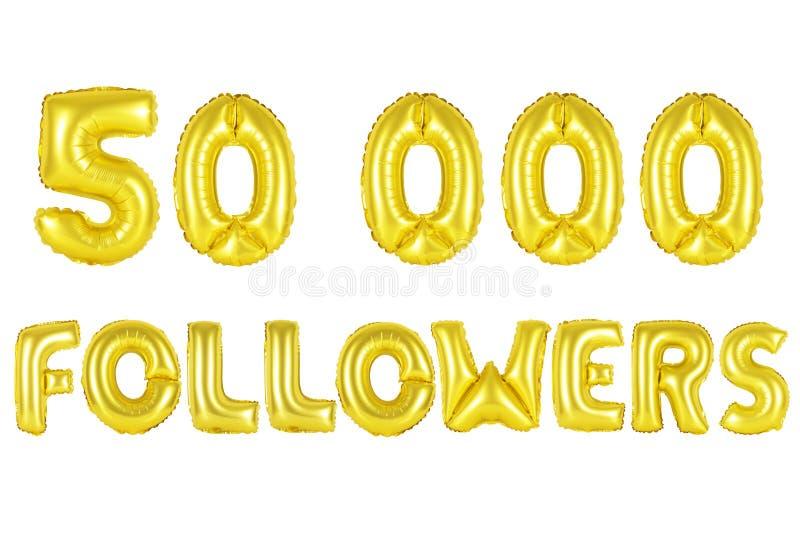 50 тысяч следующие, цвет золота стоковые изображения rf