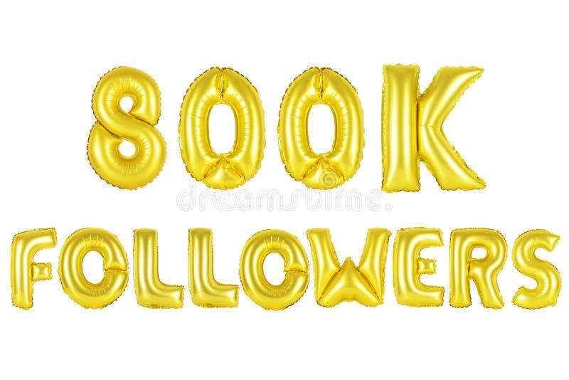 800 тысяч следующие, цвет золота стоковое фото rf