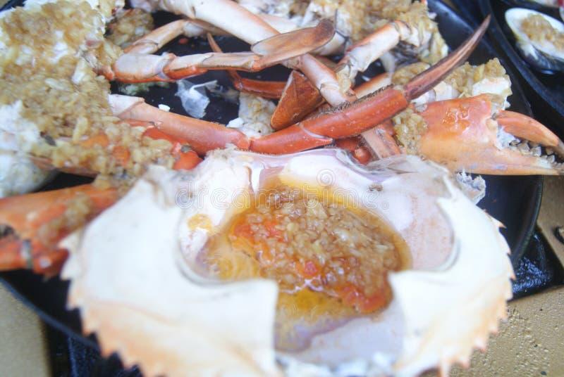 тюкуйте высушенное вкусное - изолированная плодоовощ белизна тройника продуктов моря стоковое изображение