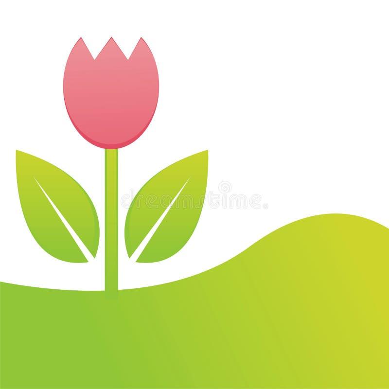 Download тюльпан весны предпосылки иллюстрация вектора. иллюстрации насчитывающей тюльпан - 18377743