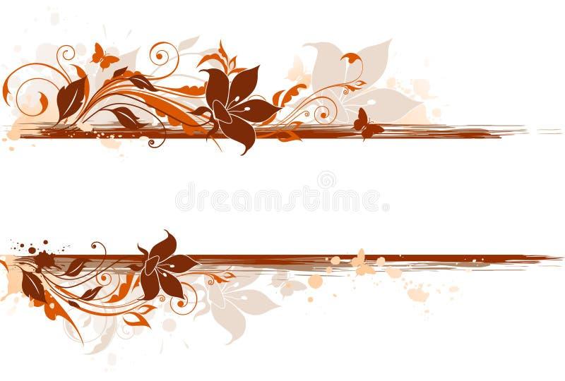 тюльпан флористического орнамента предпосылки иллюстрация вектора