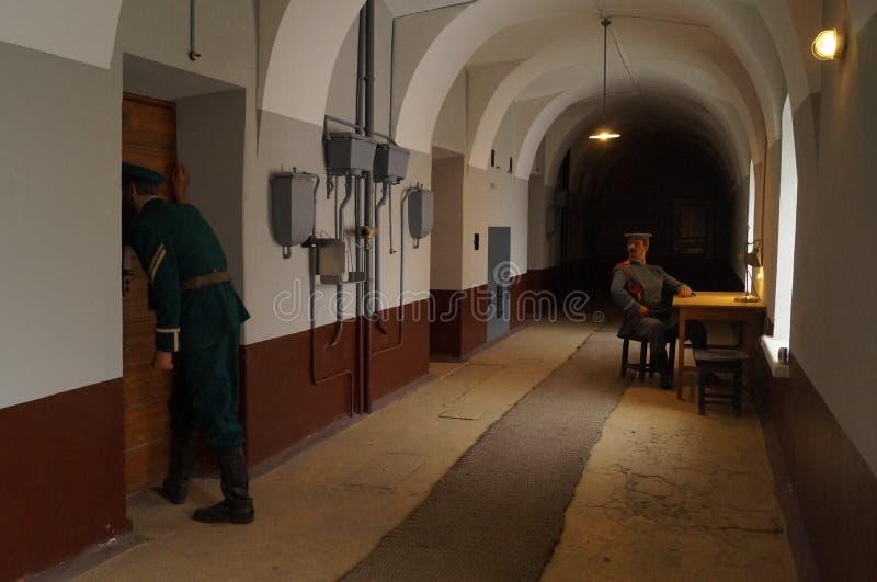 Тюрьма в России стоковое изображение