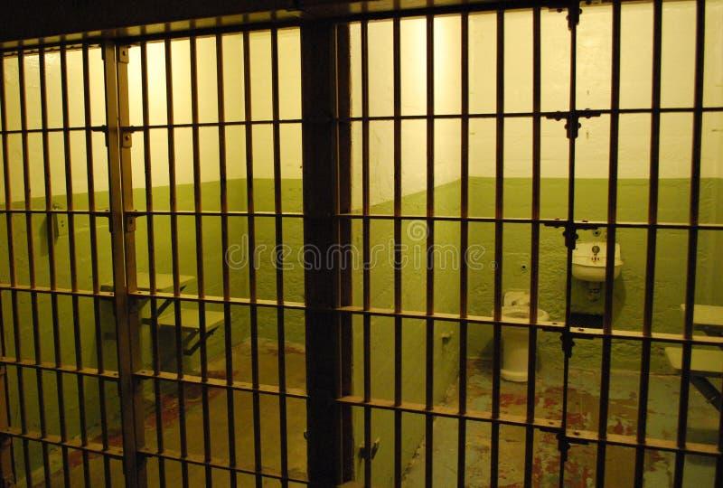 тюрьма клеток стоковые фото